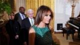 Мелания Трамп в стильном платье за $ 1600