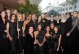 Тематические черные платья с церемонии