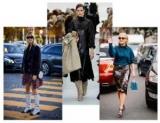 Как правильно сочетать и носить одежду из блестящей ткани