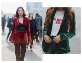 Например, сочетать бархатные вещи в 2018 году: модные советы